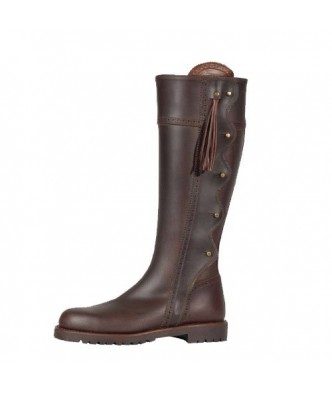 HUNTING BOOTS WITH BROOCHES
