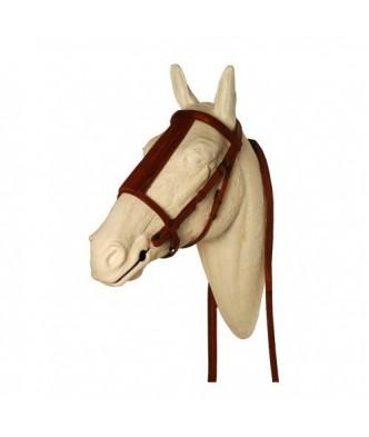 AHG HORSE LEATHER BRIDLE...