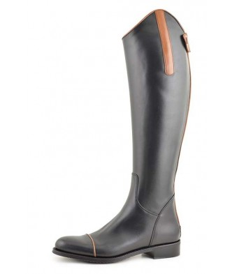EQUESTRIAN BOOT WITH BLACK...